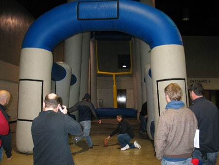 3 point inflatable 3
