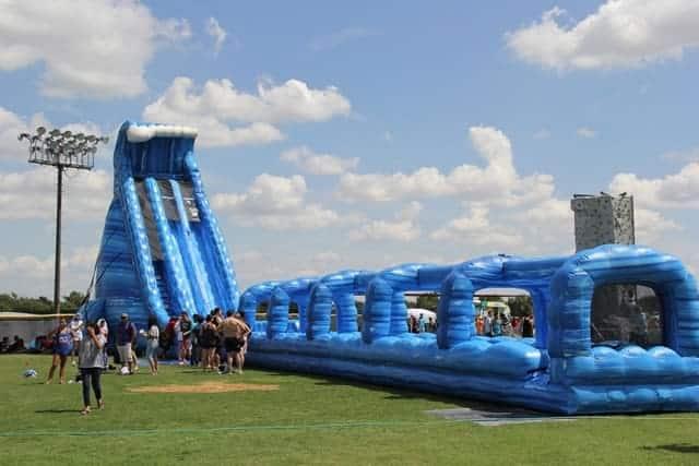 Blue Crush giant water slide rental - pic 2