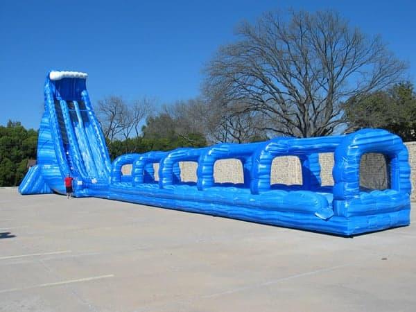 Blue Crush giant water slide rental - pic 3