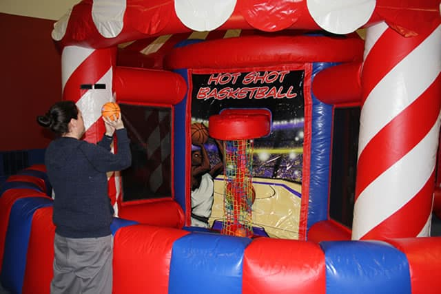 basketball hot shot - carnival arcade