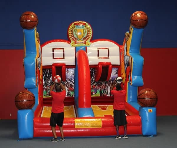 Shooting Stars - Inflatable Basketball Game Rental - Dallas