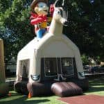 cody cowboy bounce house