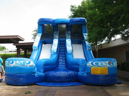 double splash water slide rental - pic 2