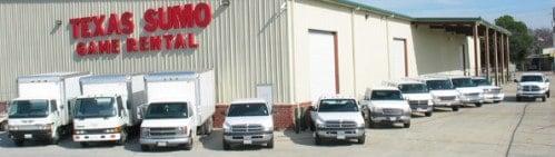 Texas Sumo delivery fleet
