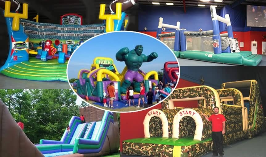 inflatable rentals - obstacle courses