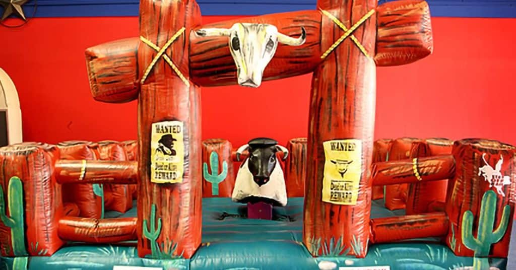 Mechanical Bull Rental - Inflatable Arena