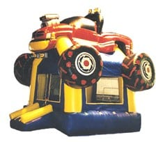 monster truck bounce house rental