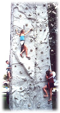 power mountain climbing wall rental