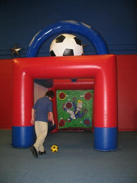 arena soccer inflatable main