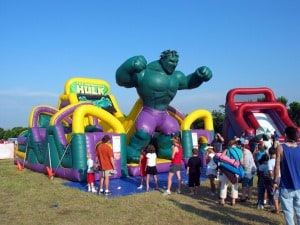the incredible hulk obstacle course
