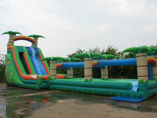 Tropical Breeze Water Slide Rental - Pic 1