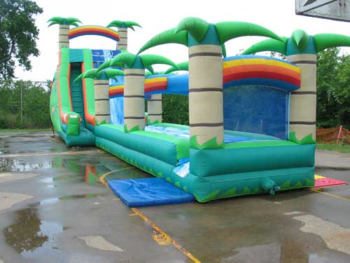 tropical breeze water slide rental - Pic 4
