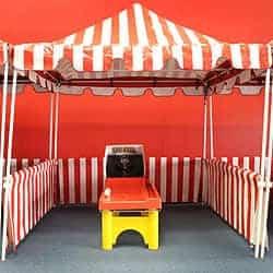 Carnival tent rental - Game 7