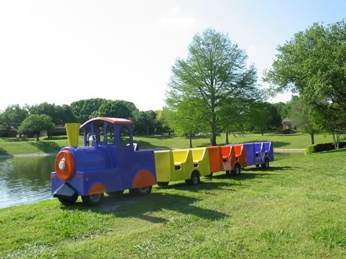 children's party train rental
