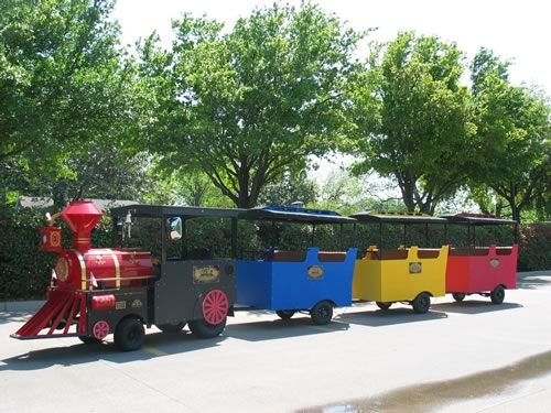 texas star train for birthday party rental - pic 2