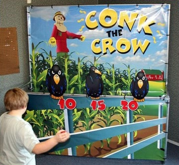 Conk the Crow Carnival Game Rental