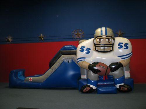 Dallas-cowboy-bounce-house-slide