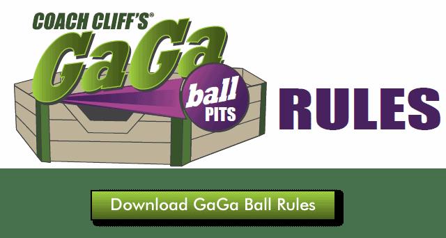 GaGa Ball Rules