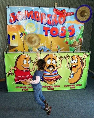Sombrero Toss - Carnival Game