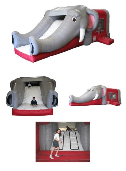 elephant-bouncer-with-slide-rental