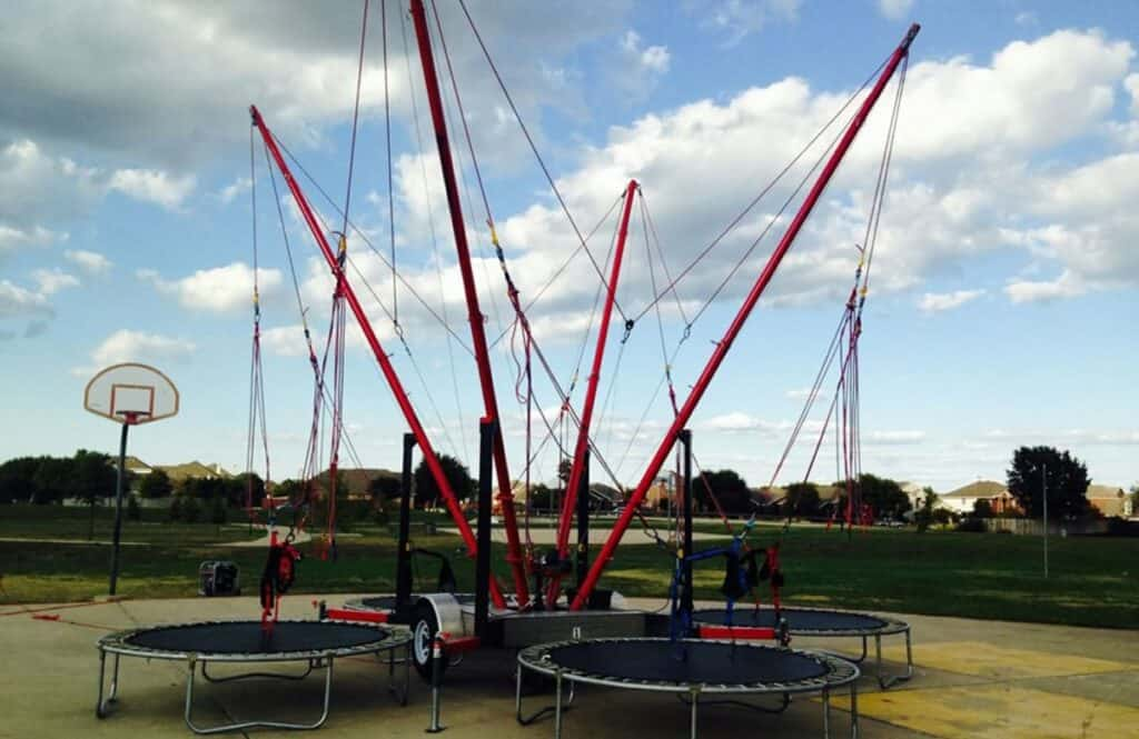 eurobungee trampoline rent - dallas