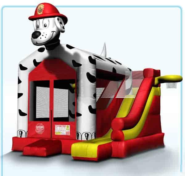 firehouse-dog-bouncer-slide-rental