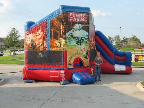 funny-farm-bounce-house-slide-rental