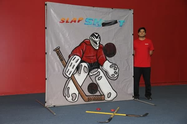 hockey frame game for rent
