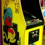 original pacman video game - party rental
