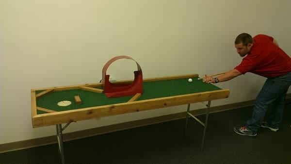 Pool & Miniature Golf Game