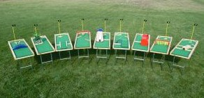 9 Holes of Pool-Golf