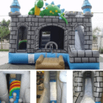 Puff-bounce/slide & obstacle - Party rental