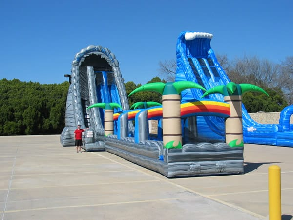 roaring river - water slide rental
