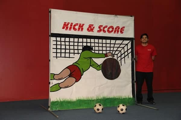 soccer frame game rental