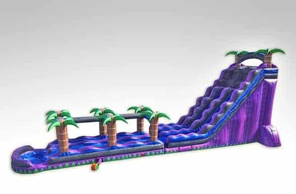 27 ft tall purple water slide