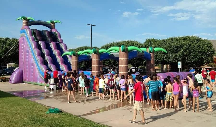 Purple Crush - Giant Water Slide Rental - Dallas, TX
