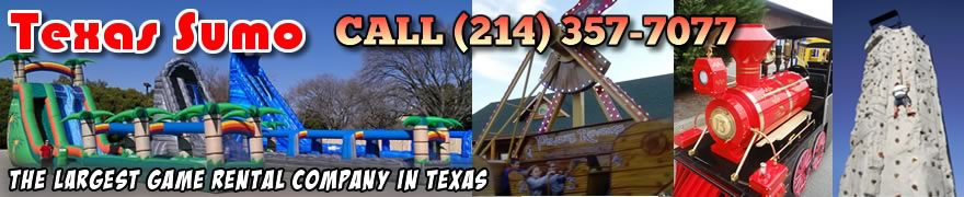 Texas Sumo Game Rental