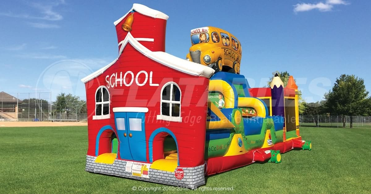 Red School House - Obstacle Course Rental