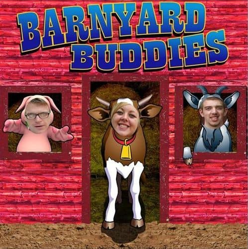 Put Your Face in Barnyard Animal Cutout