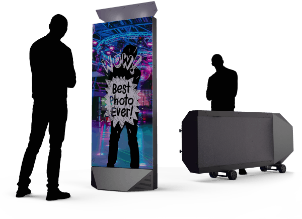 Portable Selfie Mirror Booth