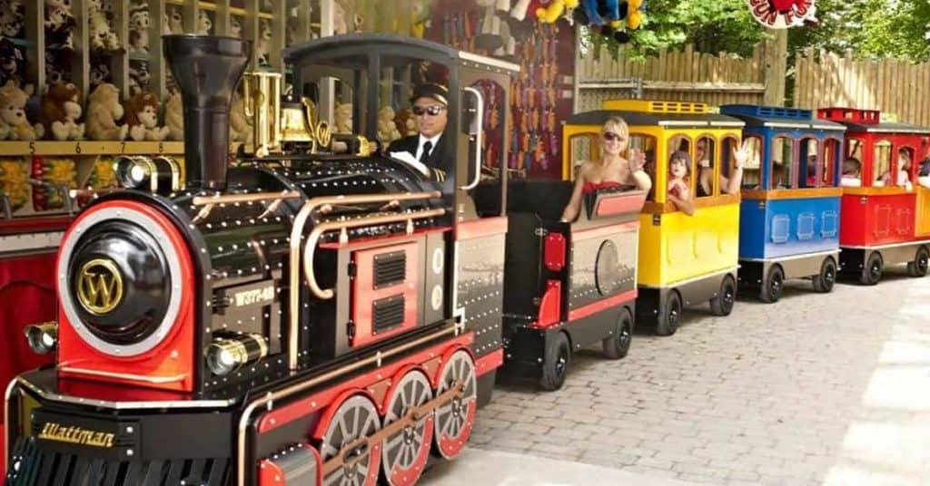 Wattman Mini Express Train Rental - Dallas