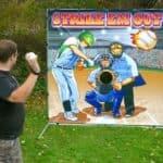 Baseball Toss Carnival Game
