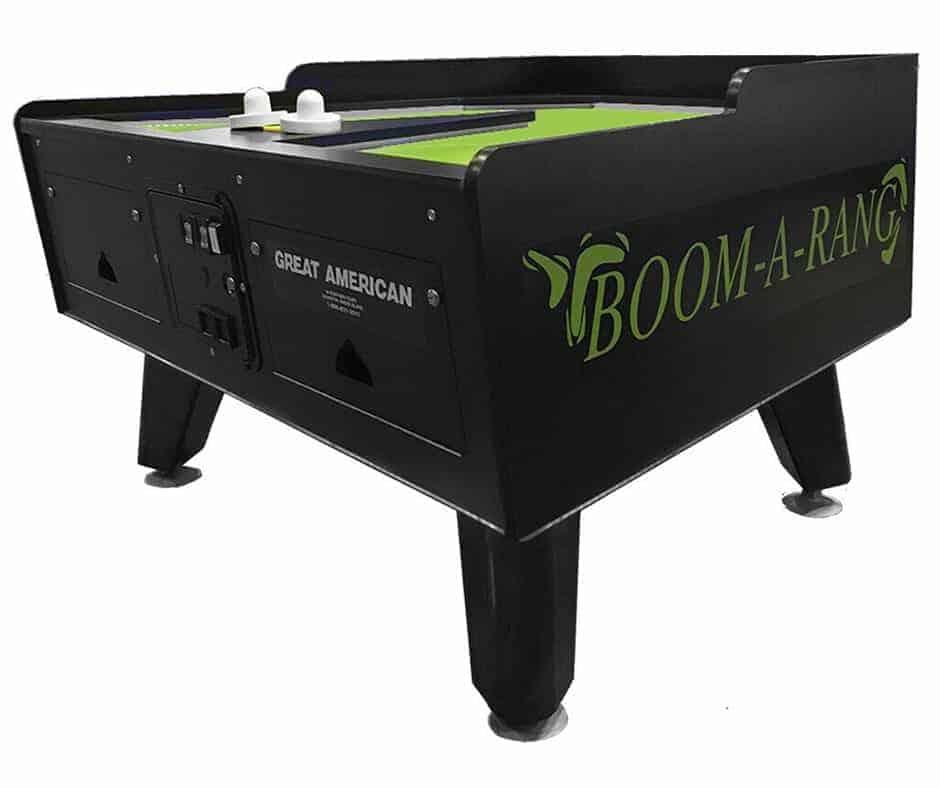 boom-a-rang air hockey - table rental