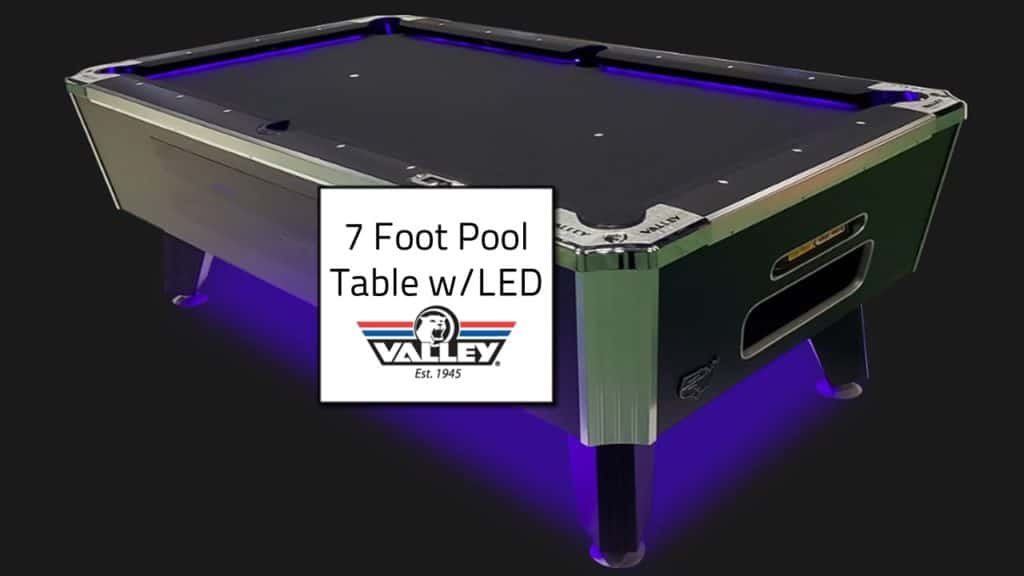 7 foot pool Table rental - Dallas